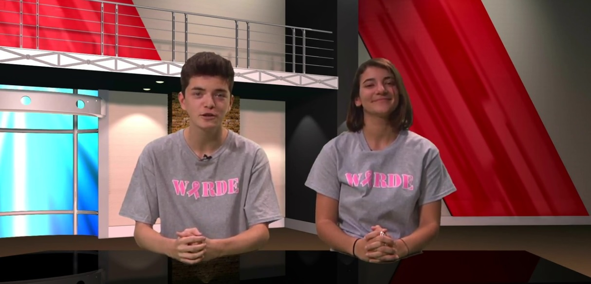 Warde TV's New Anchors