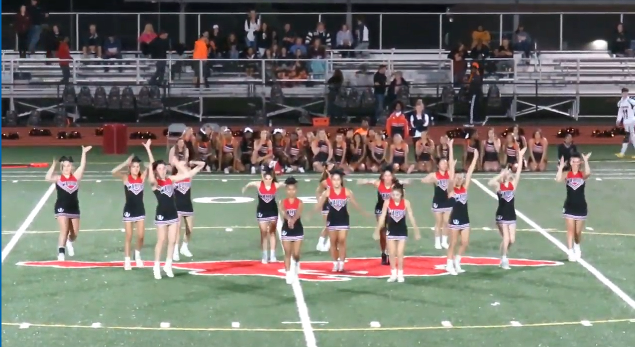 Warde Cheer Amidst COVID