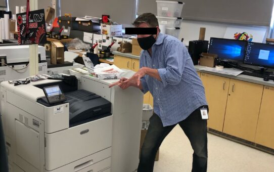 FWHS Graphics Lab Found Counterfeiting U.S. Currency