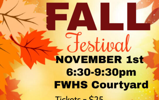Junior Fall Festival and Prom Updates!