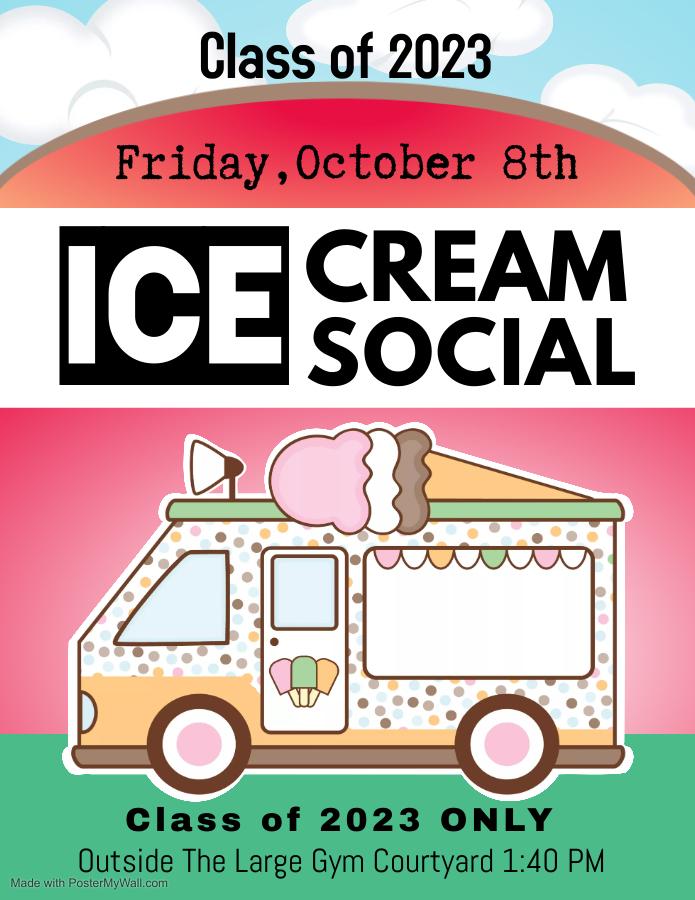 Junior Ice Cream Social Planned